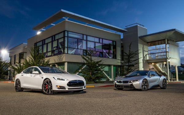Motor Trend 2014 Tesla Model S P85 Vs 2014 Bmw I8 Comparison An