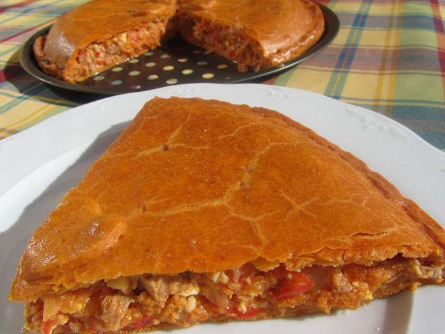 La juani de ana sevilla empanada de huevo y at n recetas thermomix pinterest - Ana cocina facil ...