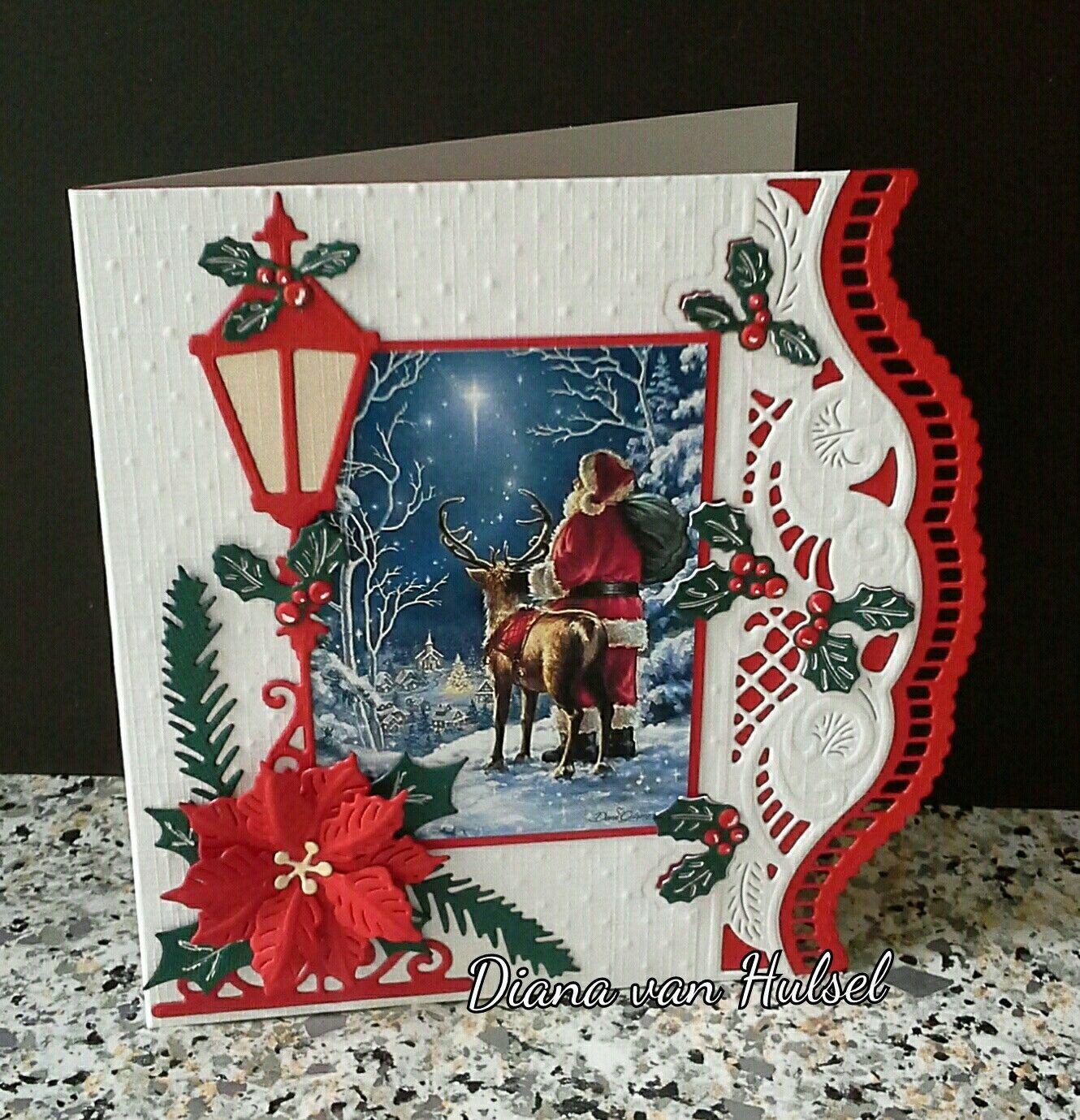 Поделка рождественская сказка или открытка