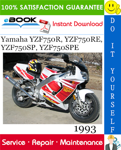 1993 Yamaha Yzf750r Yzf750re Yzf750sp Yzf750spe Motorcycle Service Repair Manual Repair Manuals Repair Yamaha