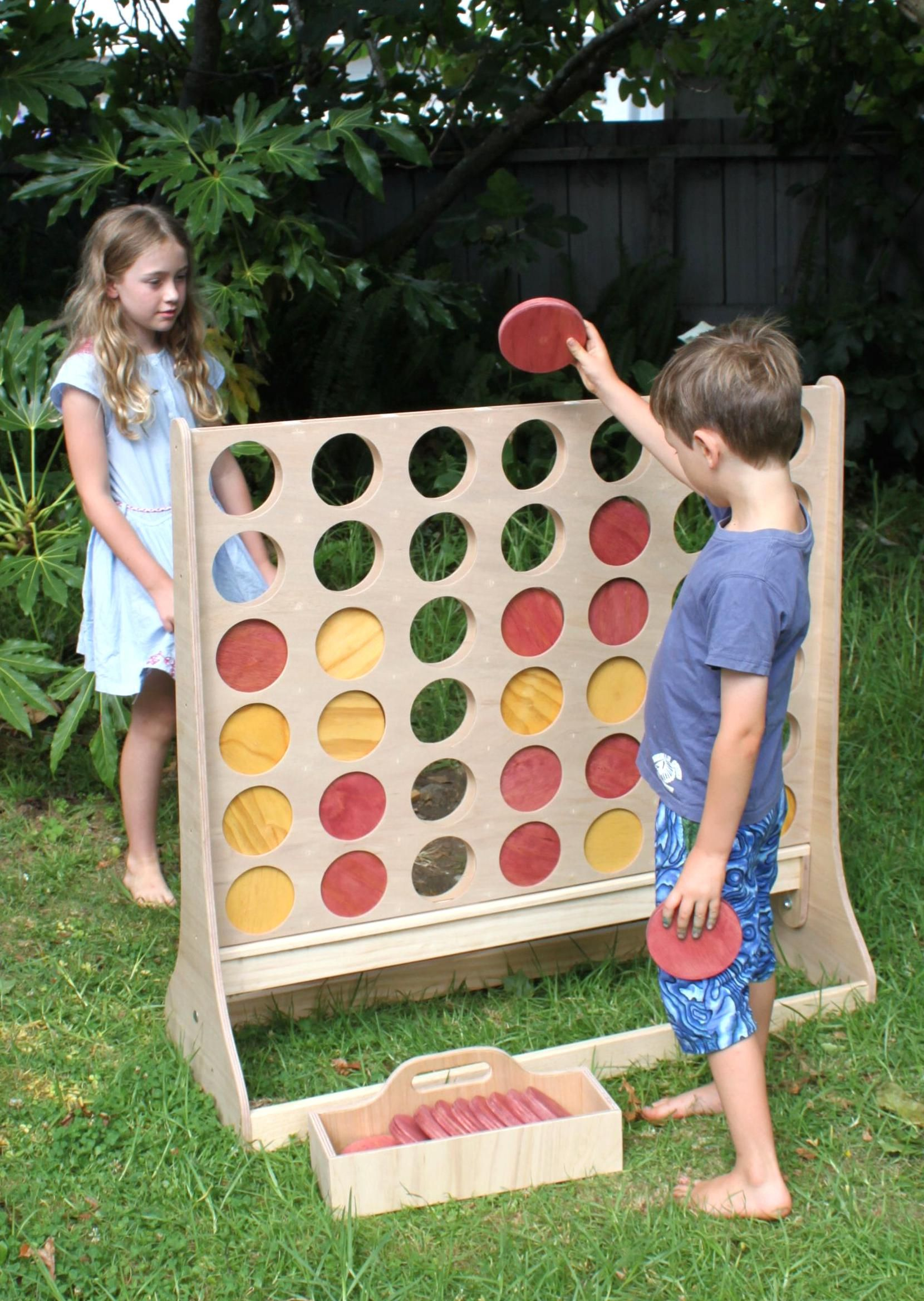 Giant Games For Hire Auckland Wide For Weddingsevents Beautiful Wooden Giant Connect 4 Giant Jenga Vintage And Trad In 2020 Wooden Games Wooden Board Games Giant Games