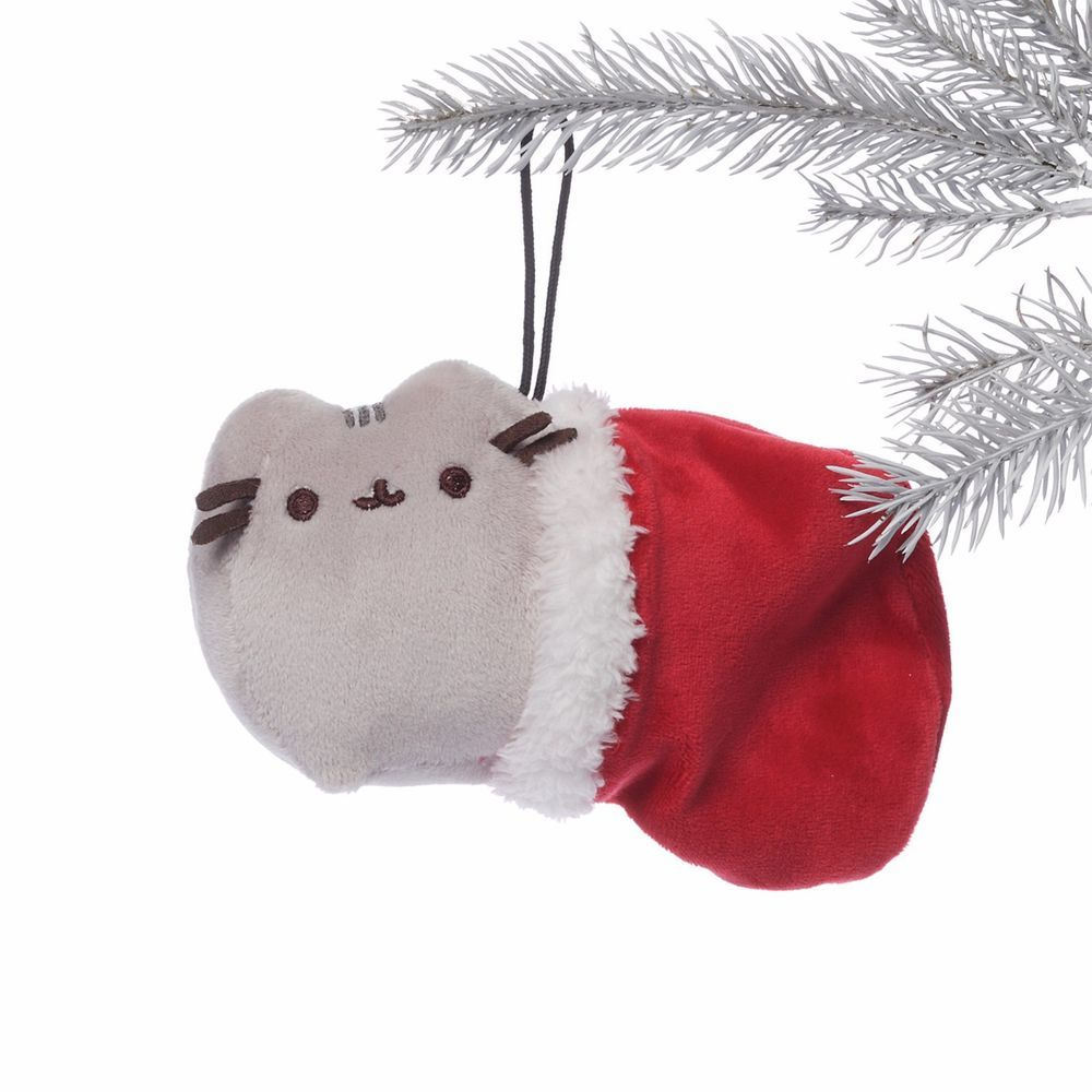 Grumpy christmas ornament - 6 Pusheen Christmas Ornament 3 5 In H