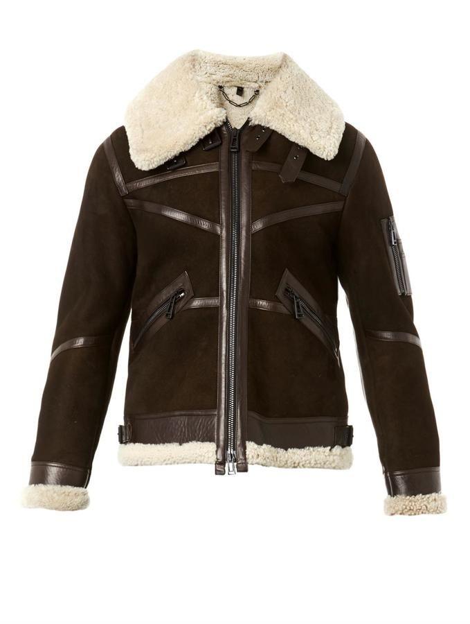 Belstaff Bridlington shearling jacket. Belstaff Bridlington shearling  jacket Mens Winter Coat ... 088ec6297