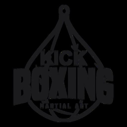 Boxing Kickboxing Fight Logo Badge Label Png Referensi