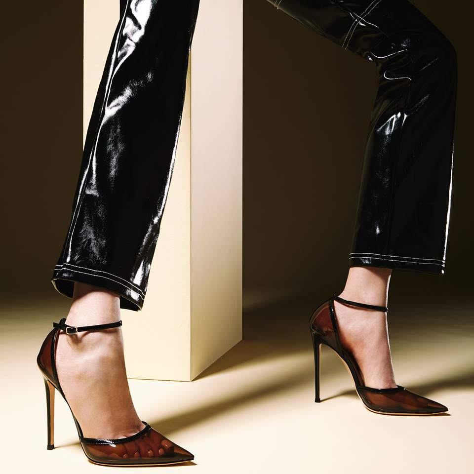 ab2b30395ee4 Gianvito Rossi - Sabin d orsay pump Black Patent Leather