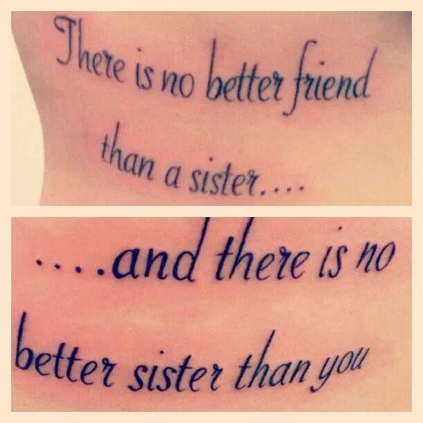sisters tattoos | tattoos | Pinterest | Tattoo