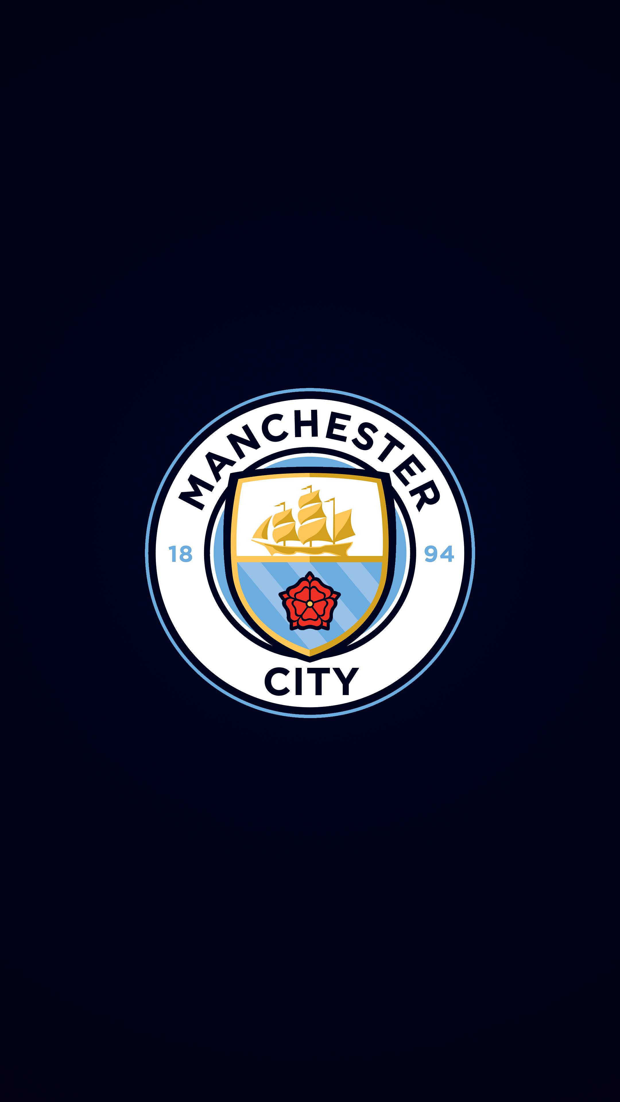 Manchester City 4k Wallpaper Sepak Bola Olahraga Desain Logo