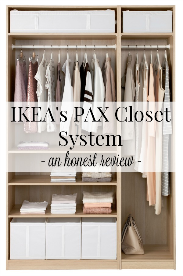 Ikea S Pax Closet Systems An Honest Review With Images Ikea