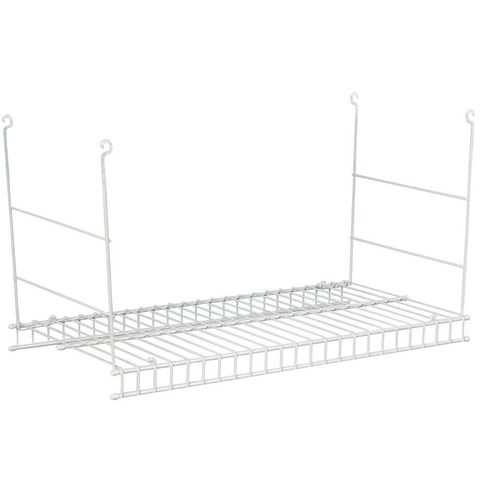 Superieur ClosetMaid 24 In. Hanging Wire Shelf 1048   The Home Depot