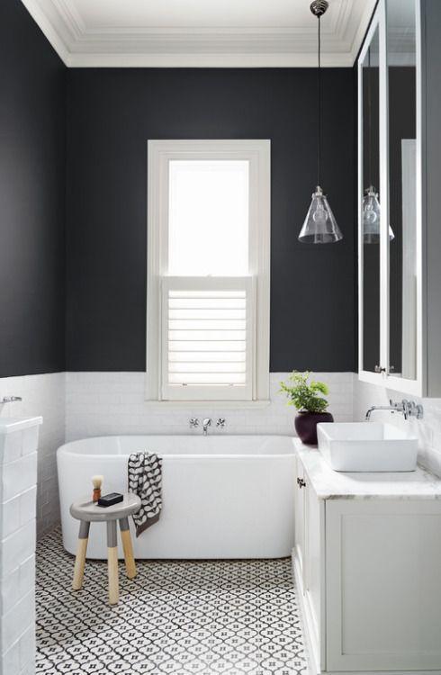 alteregodiego:Monochrome #interiors | Baños | Cuarto de baño, Baños ...