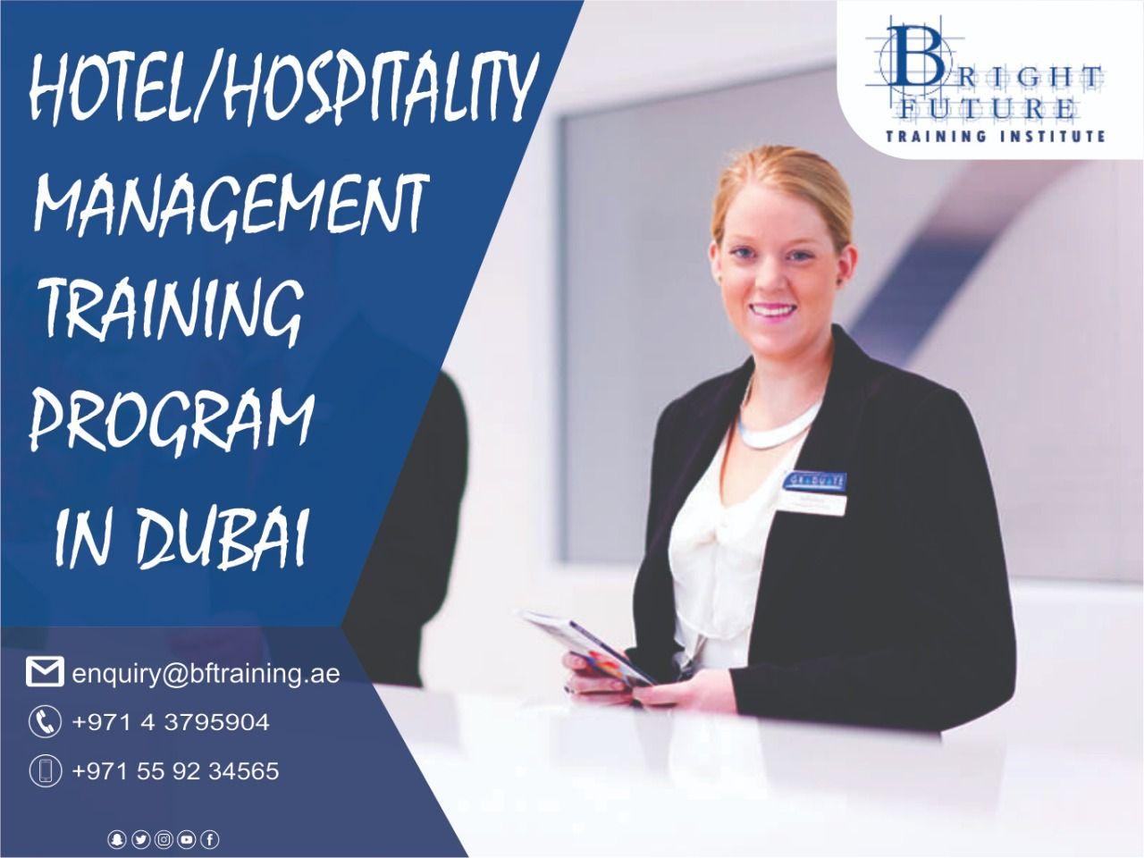 Hotel & Hospitality Management Short Courses in Dubai