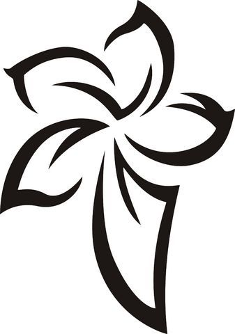 Pin By Mz Angel On Hawaiian Tribal Tribal Flower Tattoos Tribal