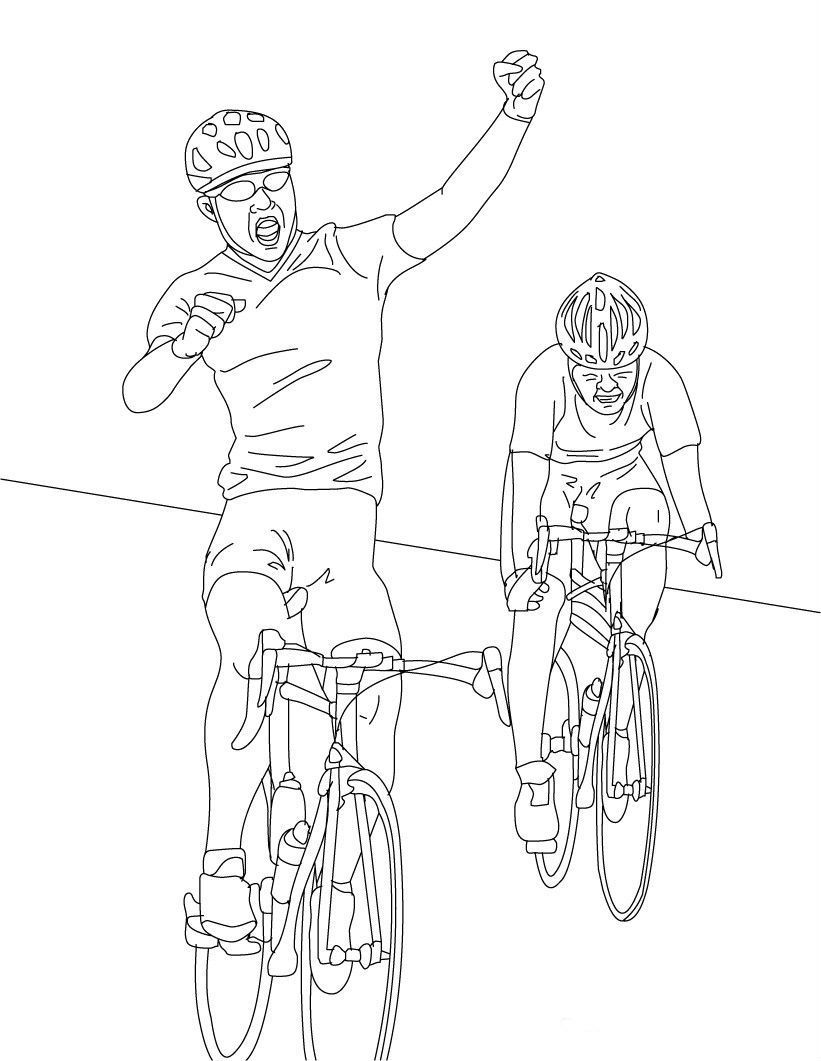win a bicycle race  cyclists and bycicles  pinterest