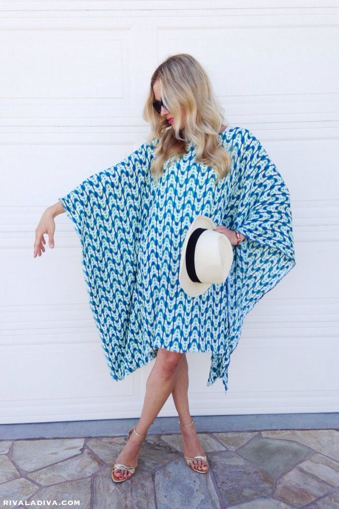 66a7594006b The Perfect Summer Caftan Dress Tutorial