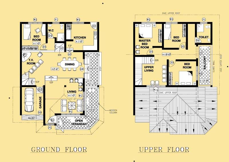 House Plan Designs In Sri Lanka Home Design Plans Plan Design House Plans