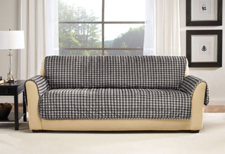 Sure Fit Slipcovers Deluxe Pet Cover Sofa Throw