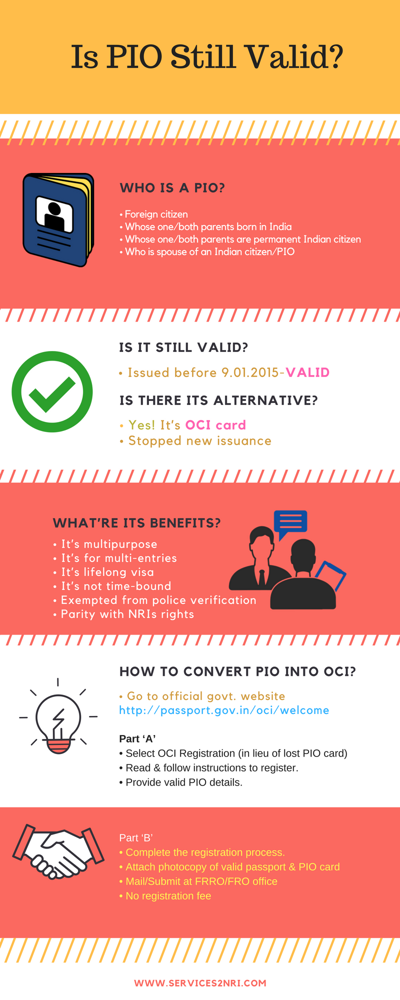What is PIO Card & How to Apply for It Online (With images
