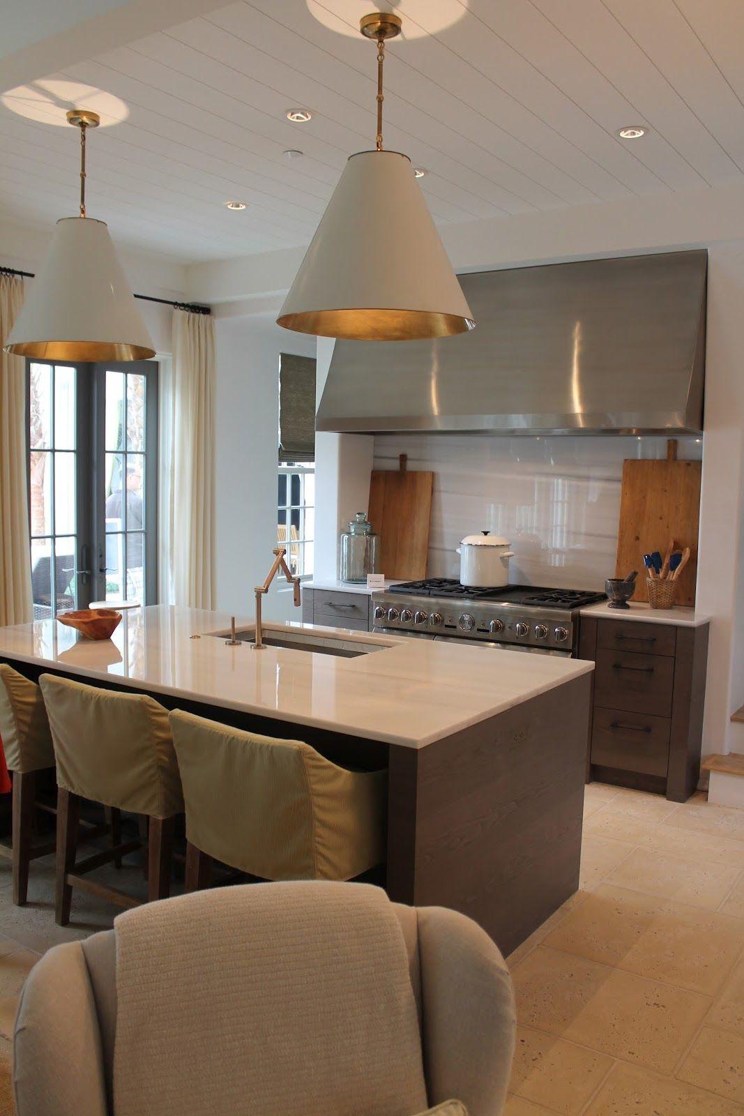 Coordinar gabinete de la cocina piso de madera de color - La Cocina