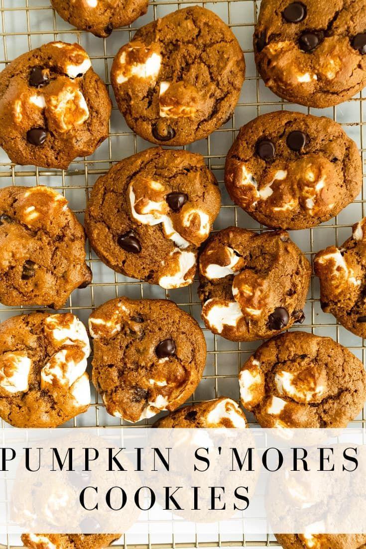Pumpkin S'mores Cookies | Once Upon a Pumpkin