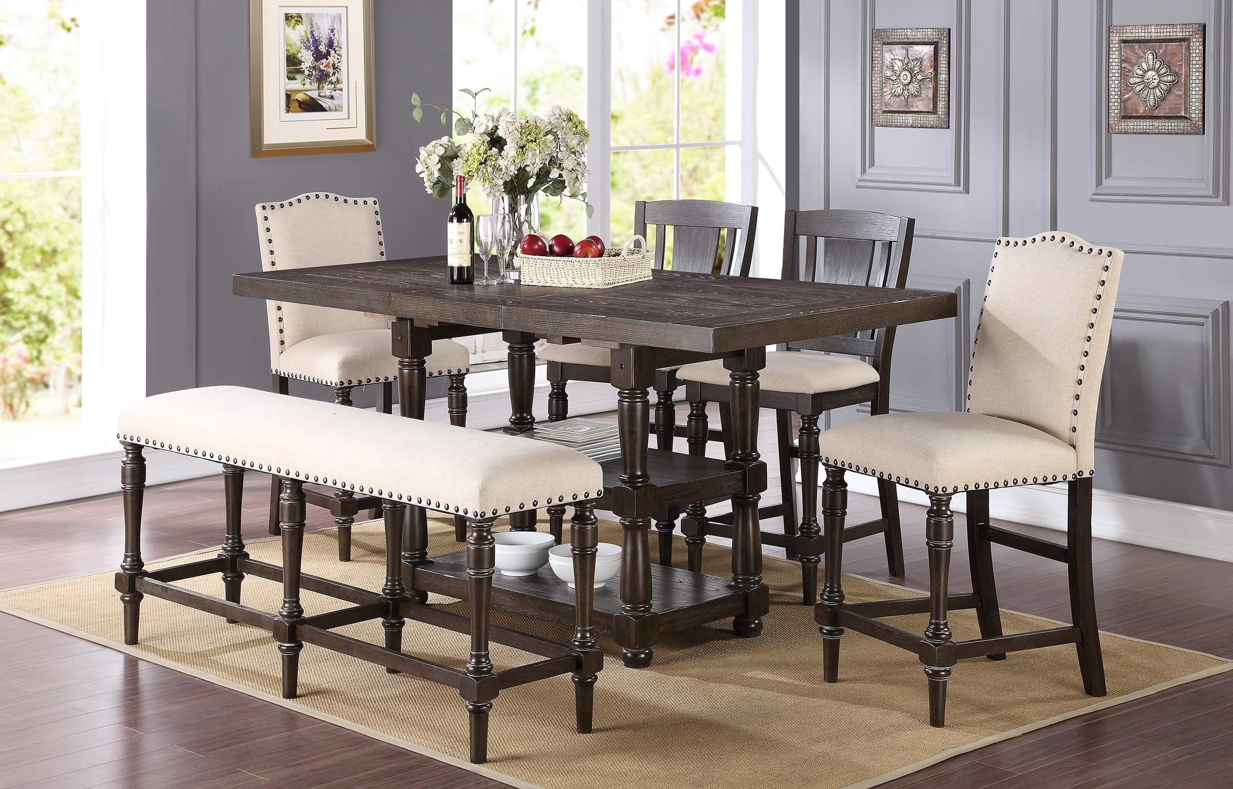 Brand new Xcalibur - Counter Height Shelf Table - Dining Tables from  Winners Only. Crowley Furniture is Kansas City's family owned furniture  store for over ...