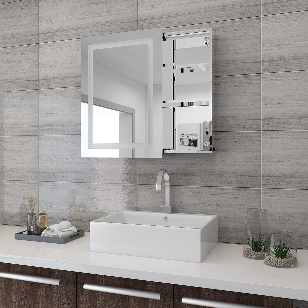Tolle Badezimmerspiegel Kleben Inspirations Und Dekorationsideen