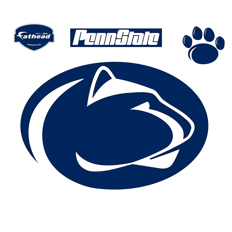 Amazon Com Fathead Penn State Nittany Lions Logo Wall Decal