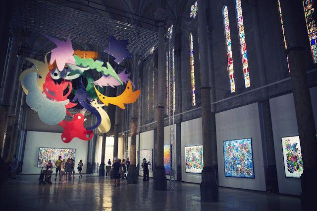 Lia S-P: Exposition JonOne au carré Sainte Anne, Montpellie...