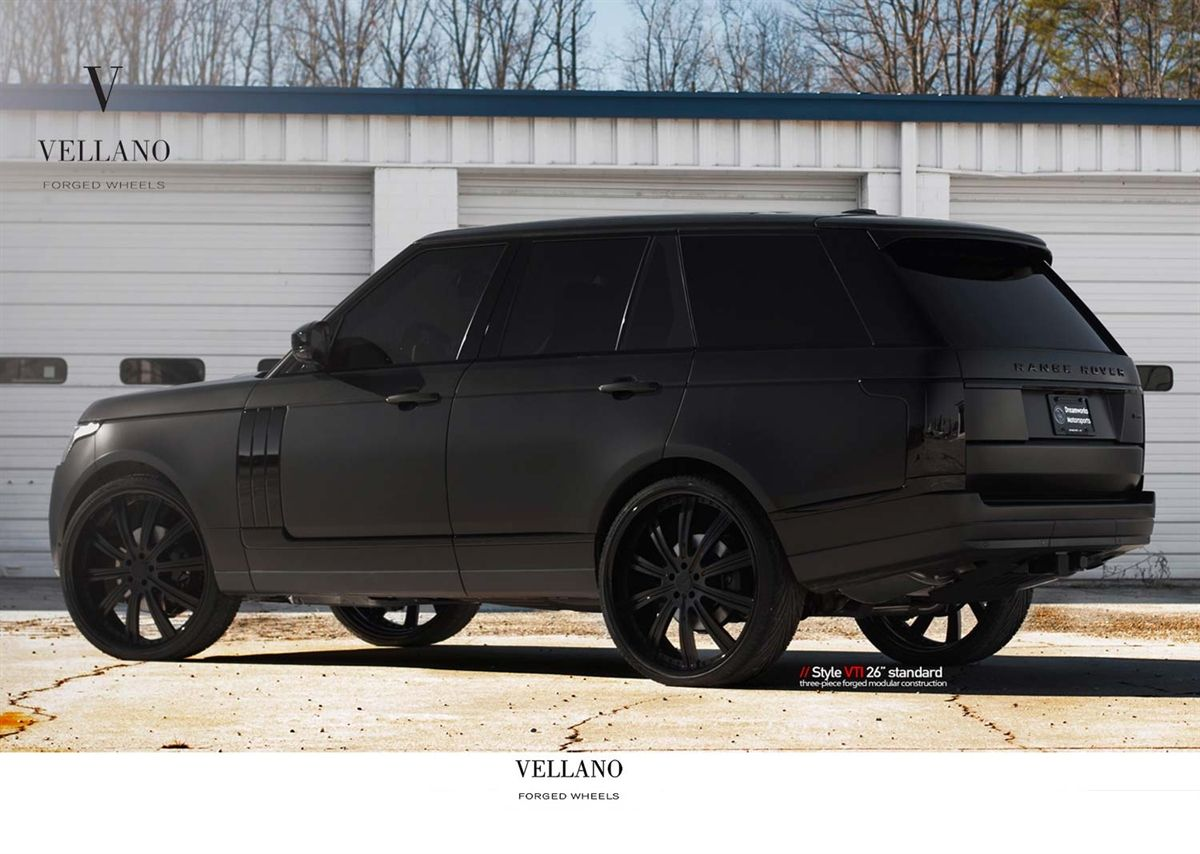 Matte Black Range Rover - Google Search