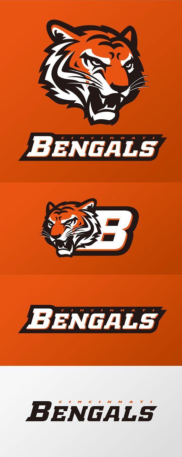 Check Out All Our Cincinnati Bengals Merchandise Logo Concept Sports Logo Design Sports Logo Inspiration