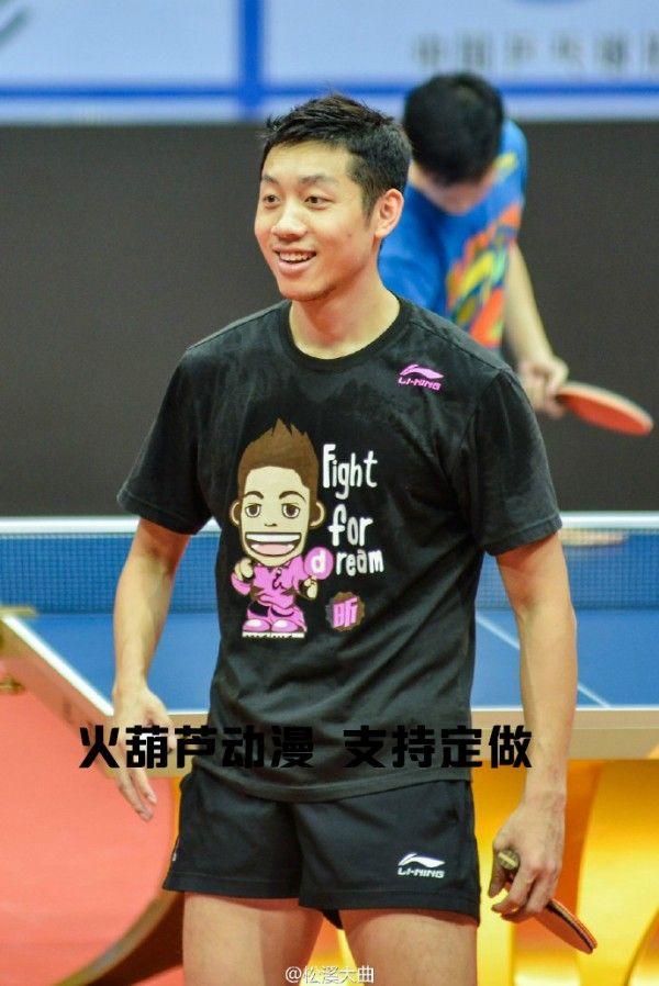 2016 Rio Xu Xin Fight For Ream Cartoon Mens Womens Table Tennis T Shirt Tennis Tshirts Table Tennis Men