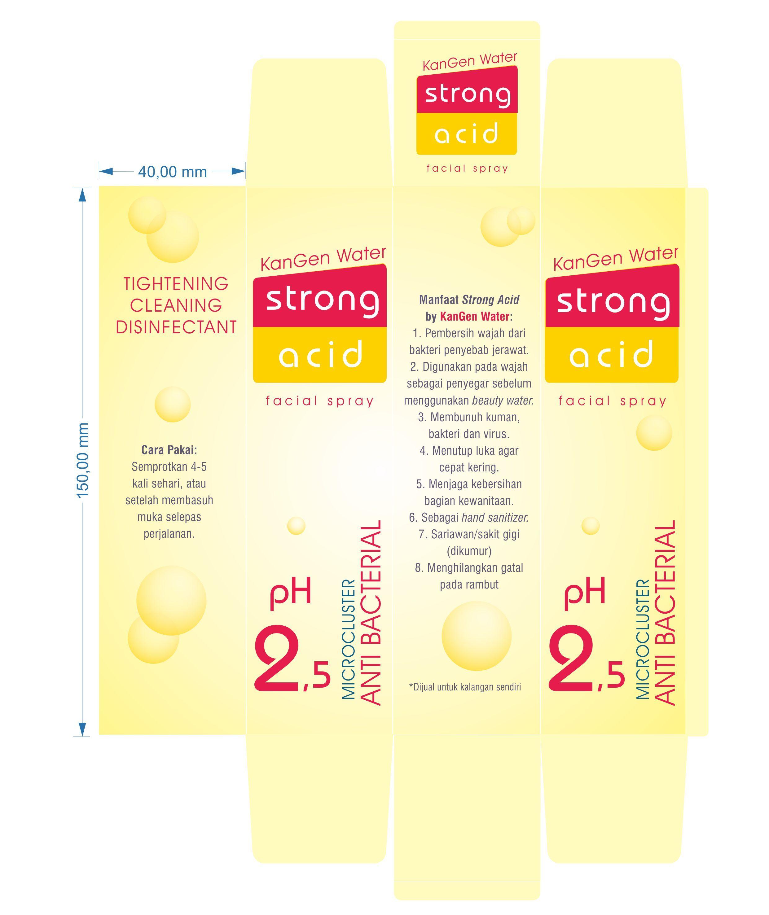 Cara Pakai Strong Acid Dan Beauty Water Untuk Jerawat