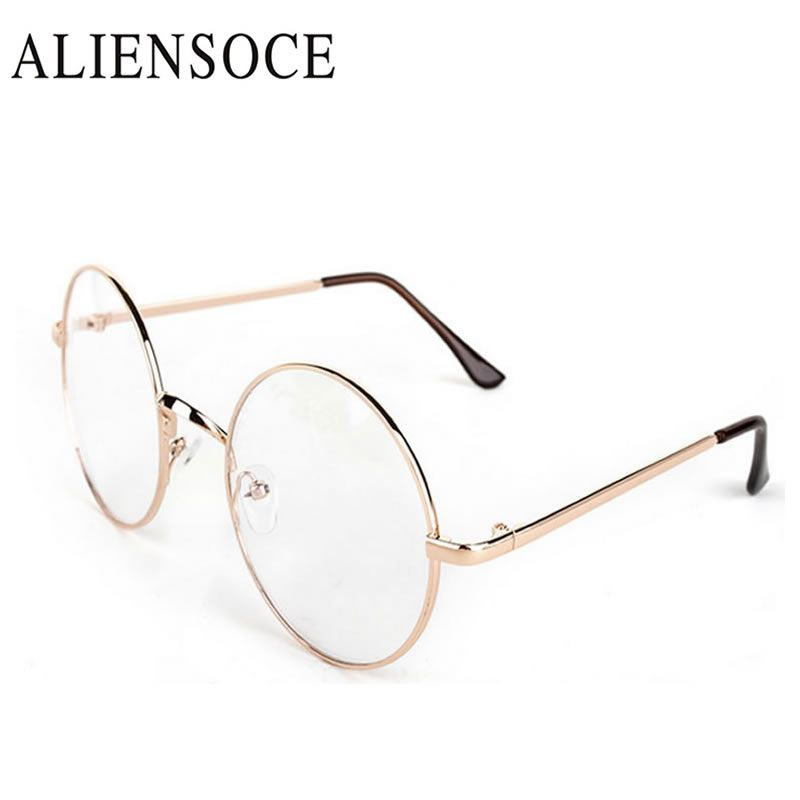 Harry Potter Glasses Computer Lenses Round Metal Frame Eyeglasses ...