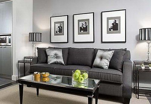 Best Black Grey And White Living Room Ideas With Pictures 400 x 300