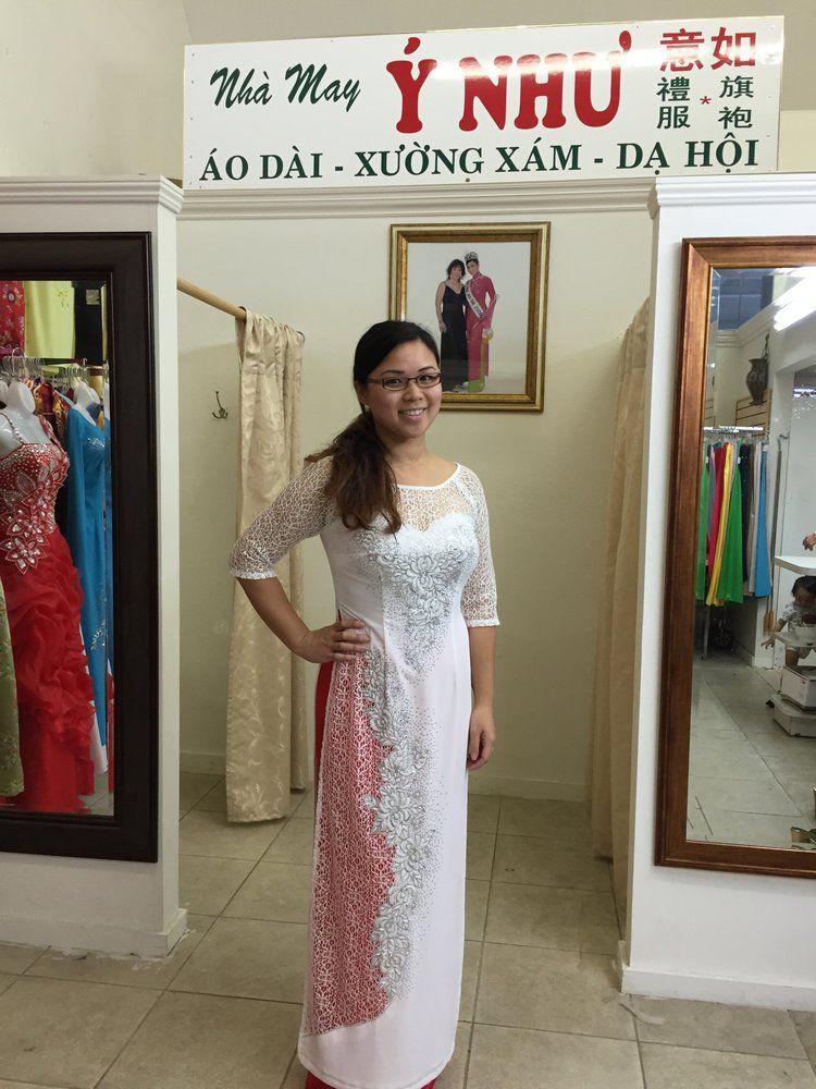 Y Nhu Ao Dai - San Jose, CA, United States. JULIE wedding on DEC ...