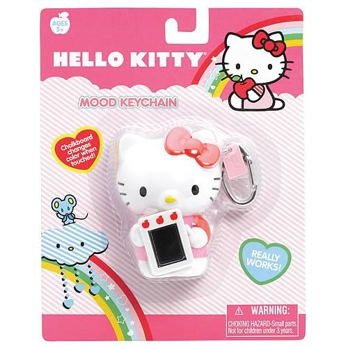 Hello Kitty Moody Kitty keychain