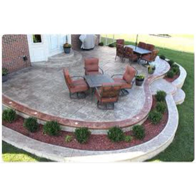Concrete Patio Cost, Concrete