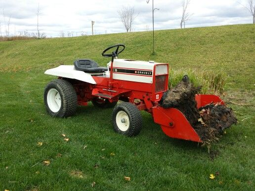 1965 Gravely 4 Wheel Tractor : With scoop gravely s pinterest tractors lawn