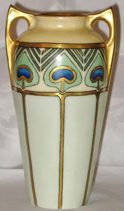 art deco urns art deco vases pottery art