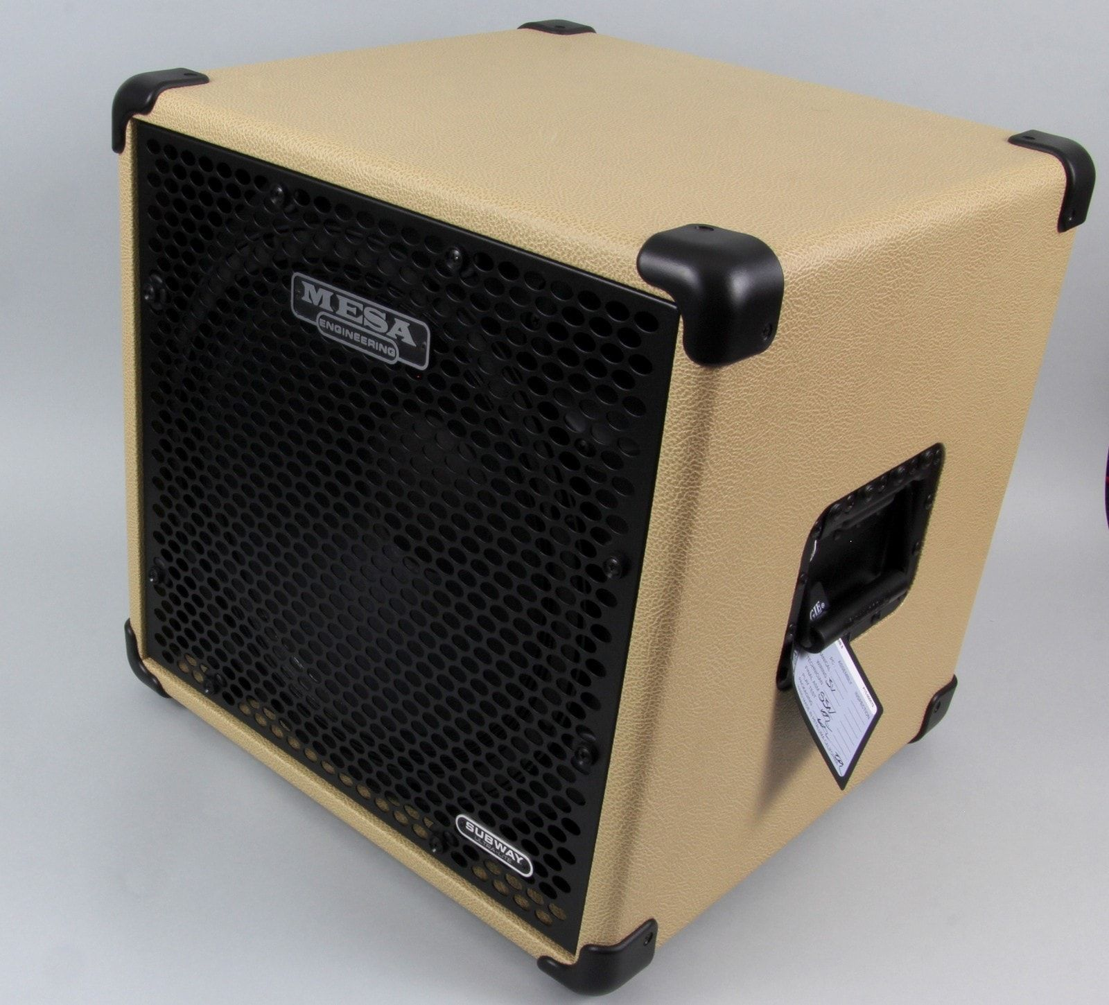 Mesa/Boogie Subway 115 Custom Bass Cabinet | Cream Bronco | Madera ...