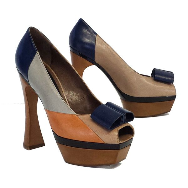 Pre-owned - Leather heels Marni r5KGIV0