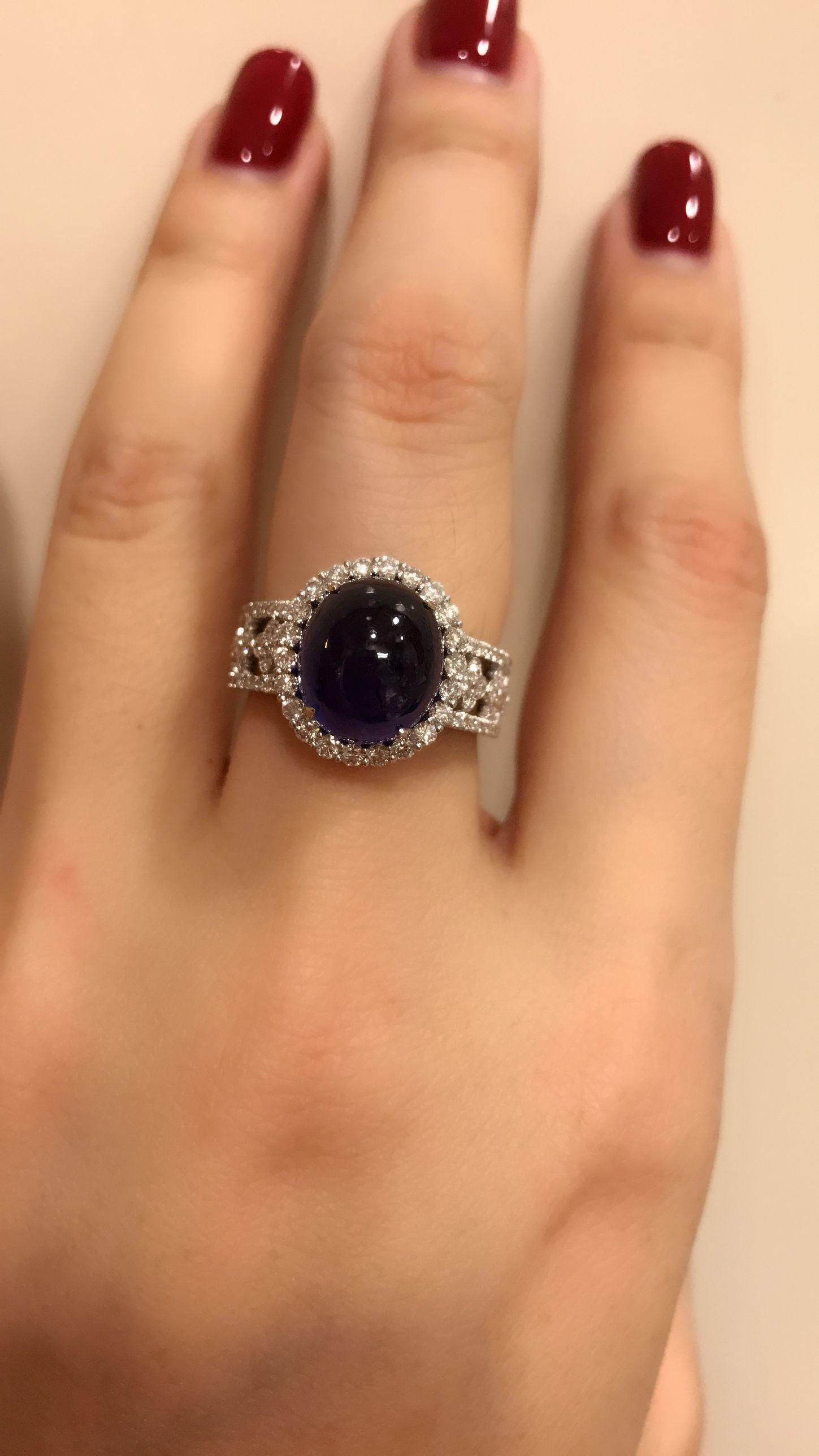 Sapphire and diamond ring jewelry Pinterest