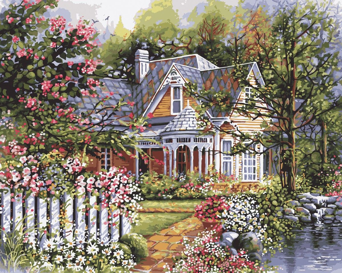 Craft Kits for Adults Gardens Beautiful and Acrylics