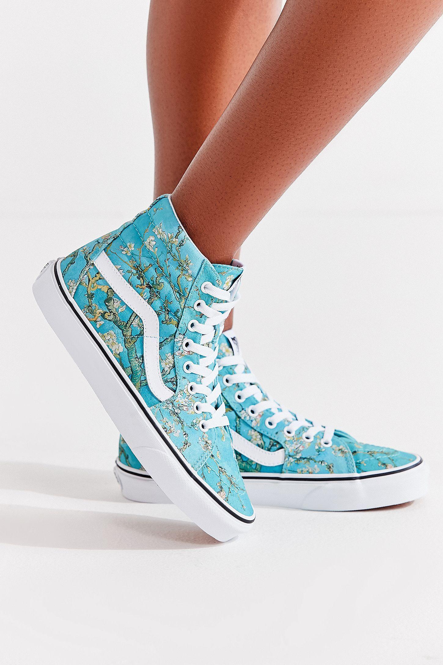 Vans X Van Gogh Sk8 Hi Sneaker Vans Shoes Women Shoes Sneakers
