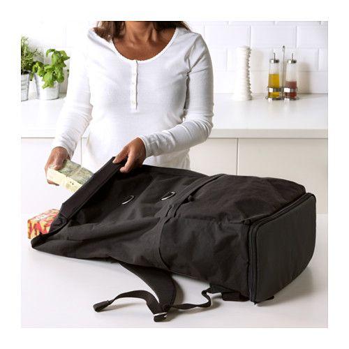 cumpara popular oficial oficial FÖRENKLA Backpack - black 9 gallon   Black backpack, Backpacks, Ikea