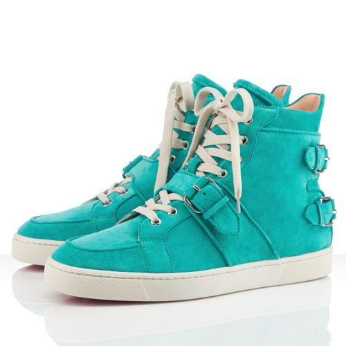 Christian Louboutin Mickael Turquoise Men\u0027s Sneakers $775.00 $146.77 Save:  ...
