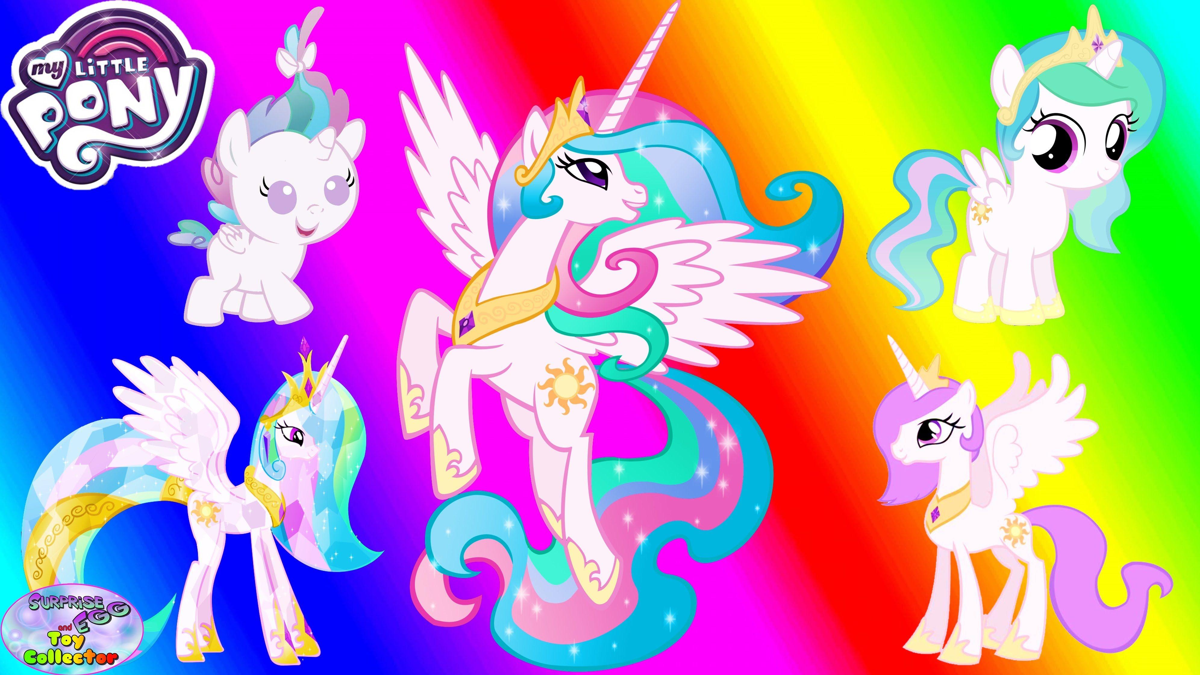 My Little Pony Transforms Princess Celestia Baby Alicorn Colors
