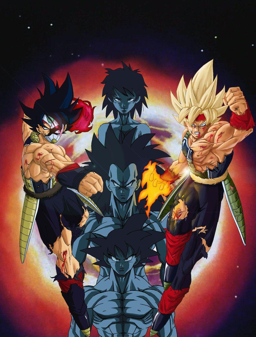 Bardock And His Family Dragon Ball Artwork Dragon Ball Super Dragon Ball