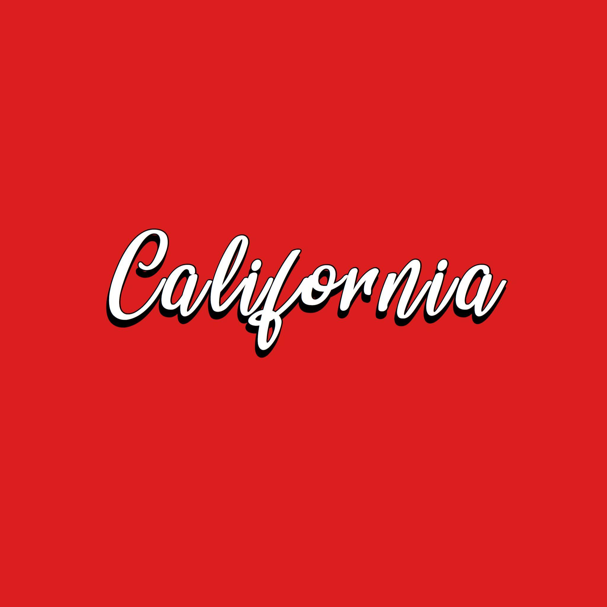 California California Dreaming California Word Red Red Background California Design Aesthetic Red Aes Red Aesthetic Aesthetic Wallpapers Red Photography