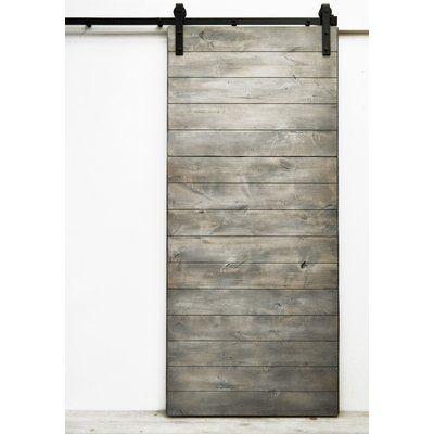 Flush Wood Finish Herringbone Barn Door Without Installation Hardware Kit Interior Barn Doors Barn Doors Sliding Sliding Doors Interior