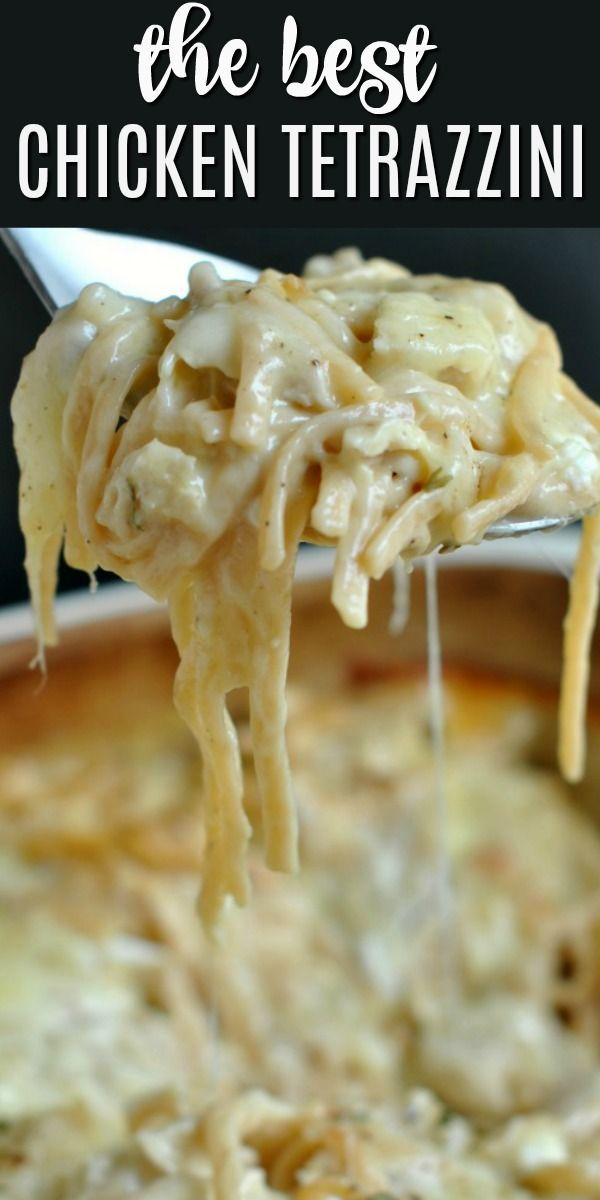 Cheesy Chicken Tetrazzini Recipe - Shugary Sweets
